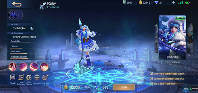 Skin Hero Ruby Terkeren di Mobile Legends