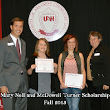Scholarship Ceremony Fall 2013 - Mary%2BNell%2BScholarship%2Bgroup.jpg