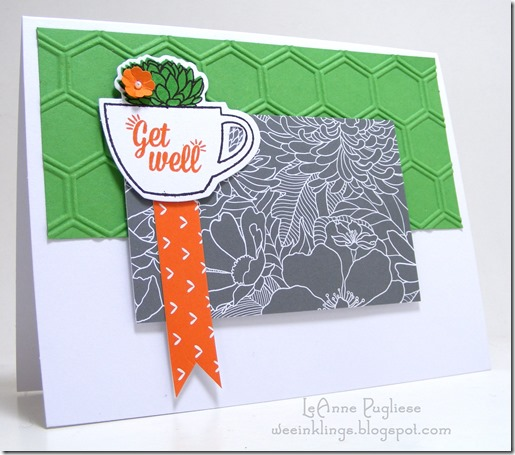 LeAnne Pugliese WeeInklings Paper Pumpkin July 2015 Get Well Stampin Up