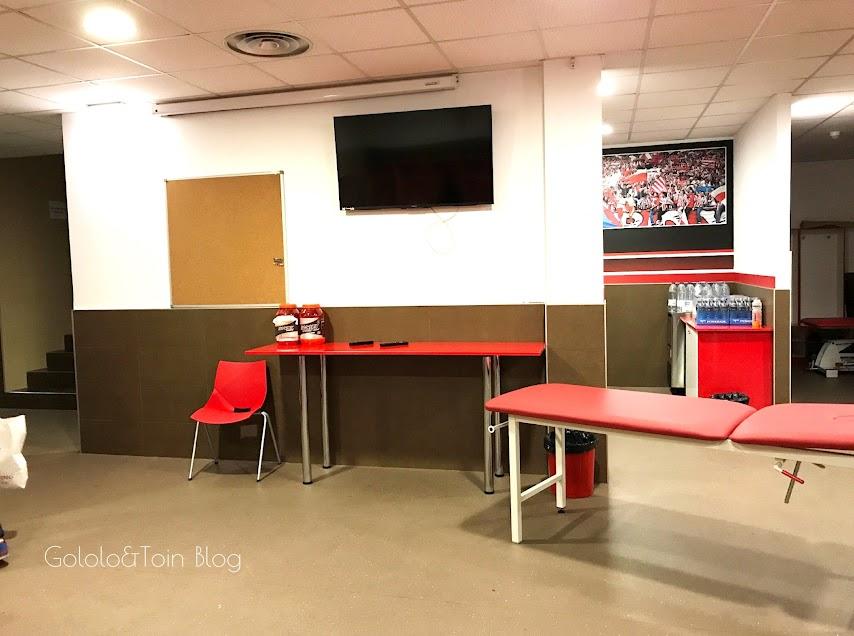 Vestuario del Real Sporting de Gijón