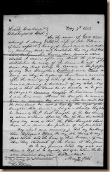 Will of Mary Nicholson Pitts