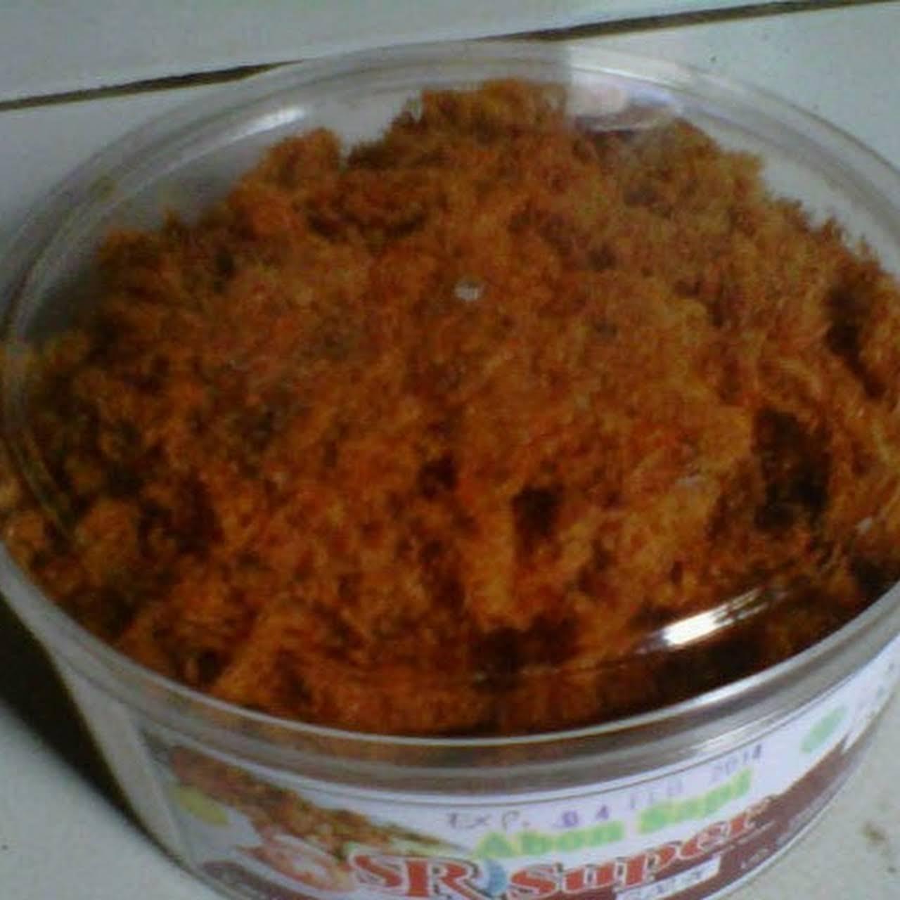 Abon Sapi Ayam Dan Bawang Goreng Saudaraku Pusat Grosir Toples Merah Sr Supe