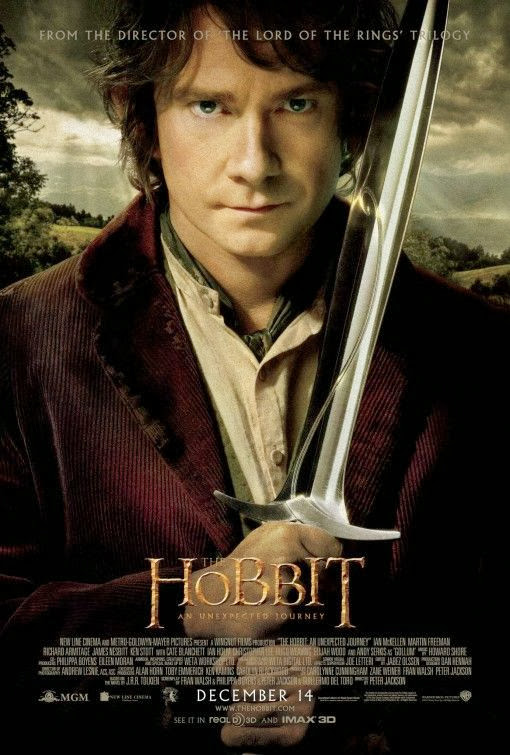 Poster Of The Hobbit An Unexpected Journey (2012) Full Movie Hindi Dubbed Free Download Watch Online At Alldownloads4u.Com