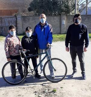 Darío Casas bicicleta