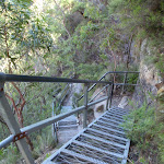 Metal stairs into the Valley of the Waters (94024)