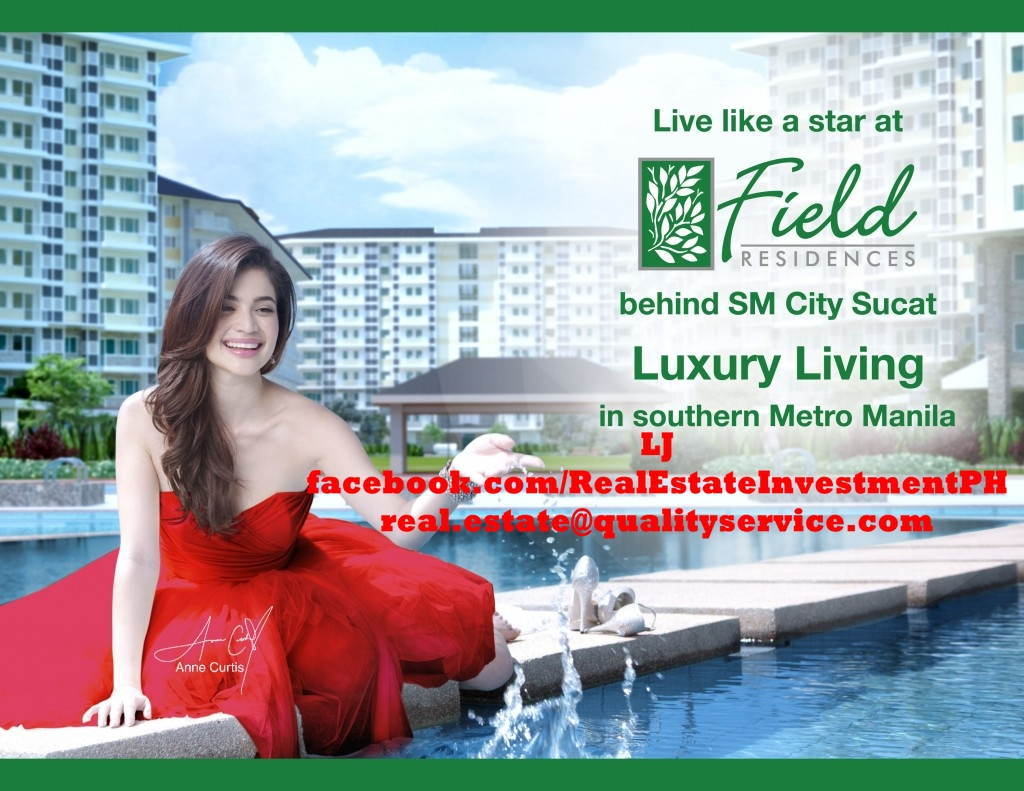 SMDC Field Residences - Live Like a Star - Luxury Living in Southern Metro Manila