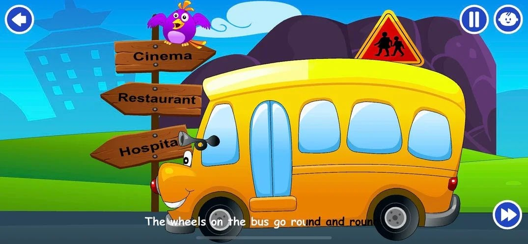 The Wheels On The Bus on Kidloland