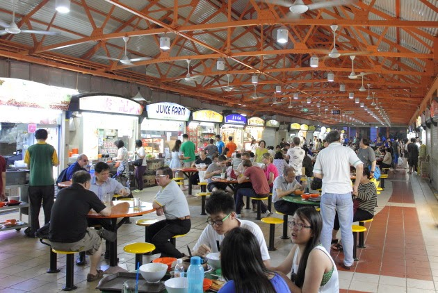 The Food lovers of Singapore