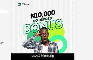 Forex No Deposit Bonus 7Bforex 10,000