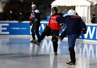Photo: Polar Soccer WM 2011 -Und hoch das Bein