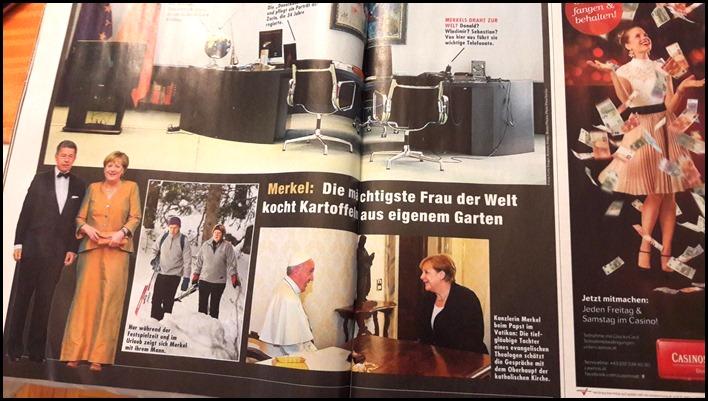 Merkel in der Krone