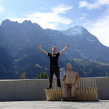 after a 12 hour journey I landed in Grindelwald, Switzerland in Grindelwald, Bern, Switzerland