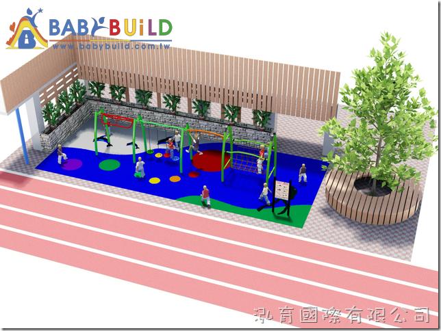 桃園市大園區竹圍國小106學年度體育及遊戲設施修繕及更新採購案