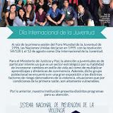 EN EL MARCO DEL 12 DE AGOSTO, DÍA INTERNACIONAL DE LA JUVENTUD