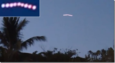 UFO Sightings Fleet Over Malaysia