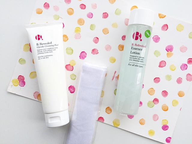 review superdrug b glycolic peel and essence lotion