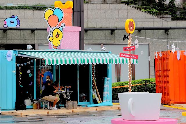 台北統一時代百貨 LINE FRIENDS 派對時光
