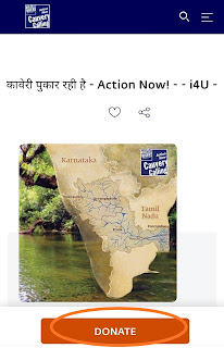 "Step 2 : Donate Trees for ""Cauvery Calling"""