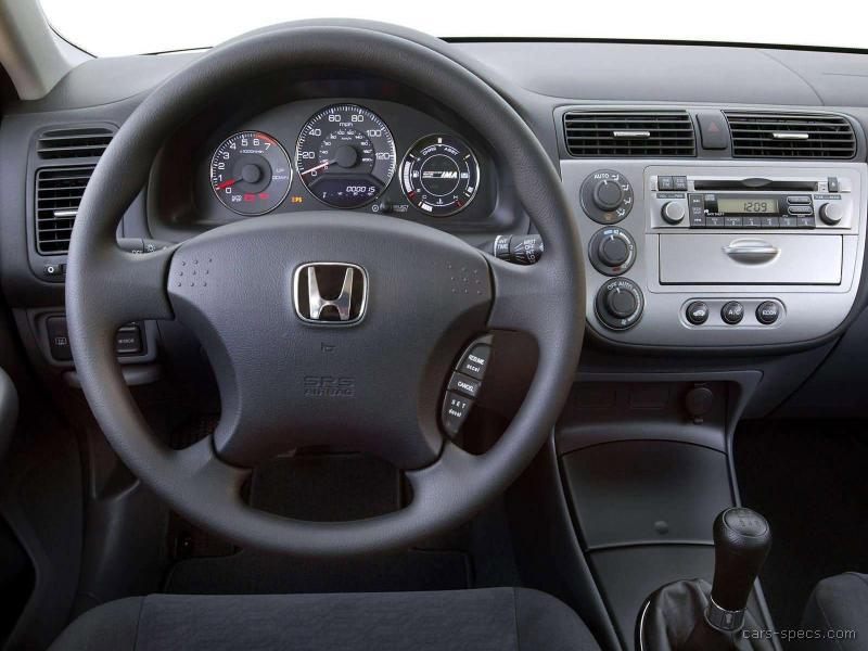 ... 2005 Honda Civic Hybrid 00017