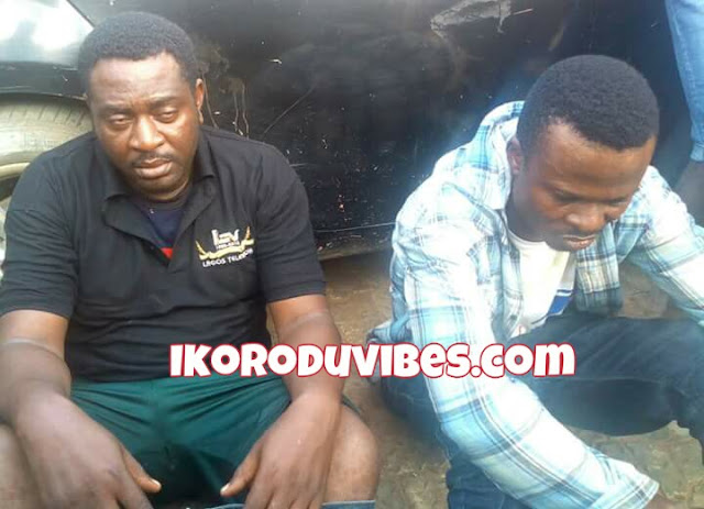 Ikorodu News! Fake Journalists Who Disguised As LTV Crews Nabbed At IGBOGBO/BAYEKU Council Secretariat, Ikorodu (Photos)