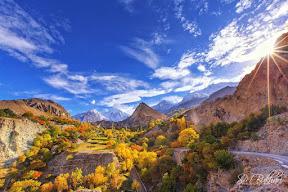 En-route To Hopper , Gilgit Baltistan