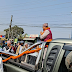 Chairman Kamal Thapa participates in RPP's motorcycle rally in Jhapa