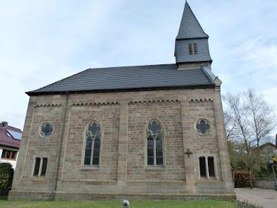 die Dorfkirche zu Jossa