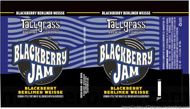 Tallgrass Adding Blackberry Jam Cans
