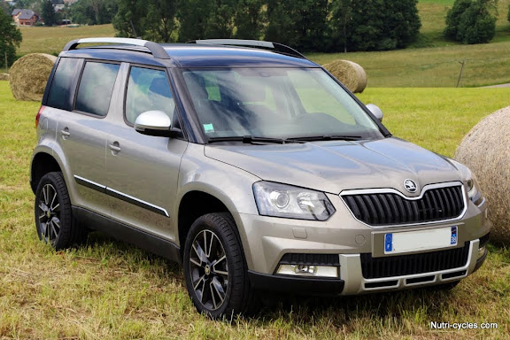 skoda yeti et son porte v los habitabilit et modularit pour les cyclistes. Black Bedroom Furniture Sets. Home Design Ideas