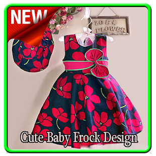Cute Baby Frock Design - náhled