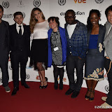 OIC - ENTSIMAGES.COM - Scott Williams, Jay Brown, Kelly Brook,  Maeve Murphy, Femi Oyeniran, Lorna Brown and Junichi Kajioka at the Taking Stock Premiere at the Raindance Film Festival  London 4th October 2015  Photo Mobis Photos/OIC 0203 174 1069