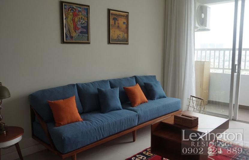 bộ sofa phòng khách căn hộ Lexington