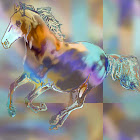 """The """"Wild Stallion"""" piece from the """"2006"""" collection"""