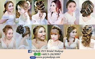 bridal makeup artist KL