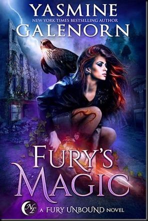 Fury's Magic  (Fury Unbound #2)