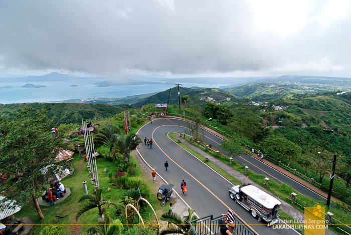 The View from Tagaytay's People's Park in the Sky