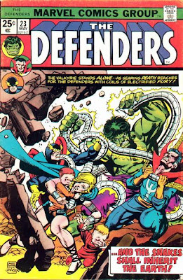 The Defenders #23, the Sons of the Serpent