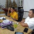 Jumpai Bupati Inhil, Abdul Wahid Sampaikan 2020 Inhil Terang Benerang Sampai Ke Plosok Desa