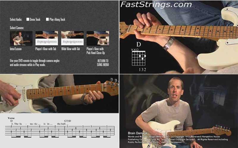 Pink Floyd: Dark Side of the Moon - Guitar Play-Along Volume 16