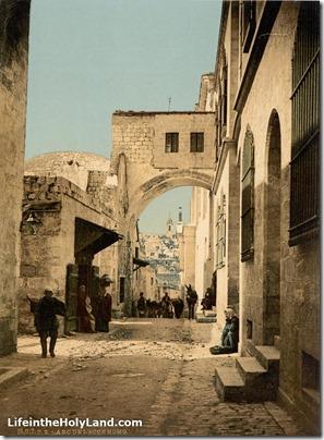 Jerusalem Ecce Homo arch, pcm02696