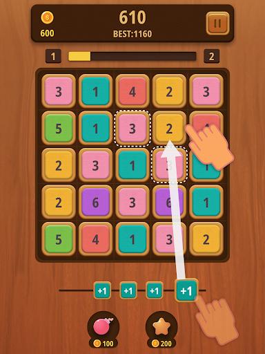 Mergezilla - Number Puzzle apktram screenshots 7
