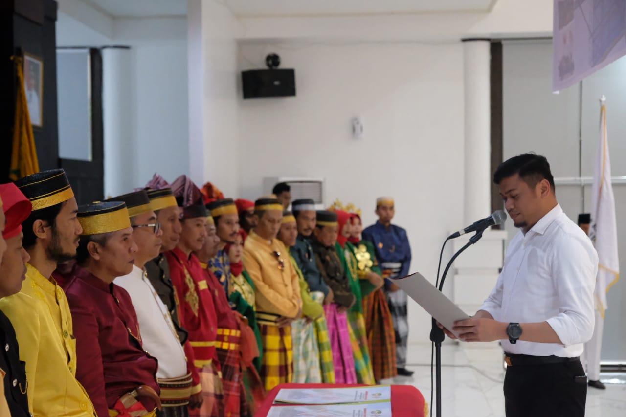 Bupati Gowa Kukuhkan Pengurus Dewan Kesenian Gowa Periode 2019-2021