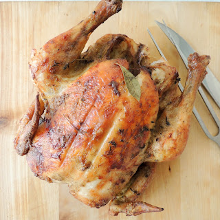 Easy Roasted Chicken.