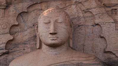 Sitting Buddha Head