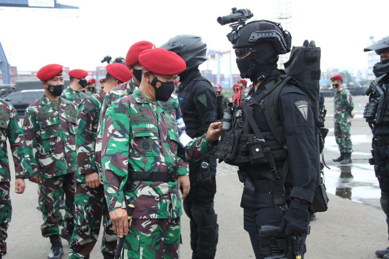 TNI Tidak Akan Membiarkan Aksi Terorisme Mengancam Kehidupan Masyarakat