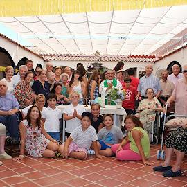 Fiesta de verano en la residencia