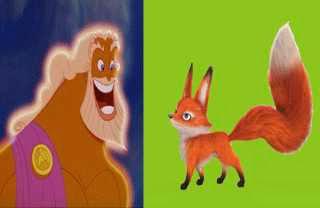 Zeus los animales y los hombres
