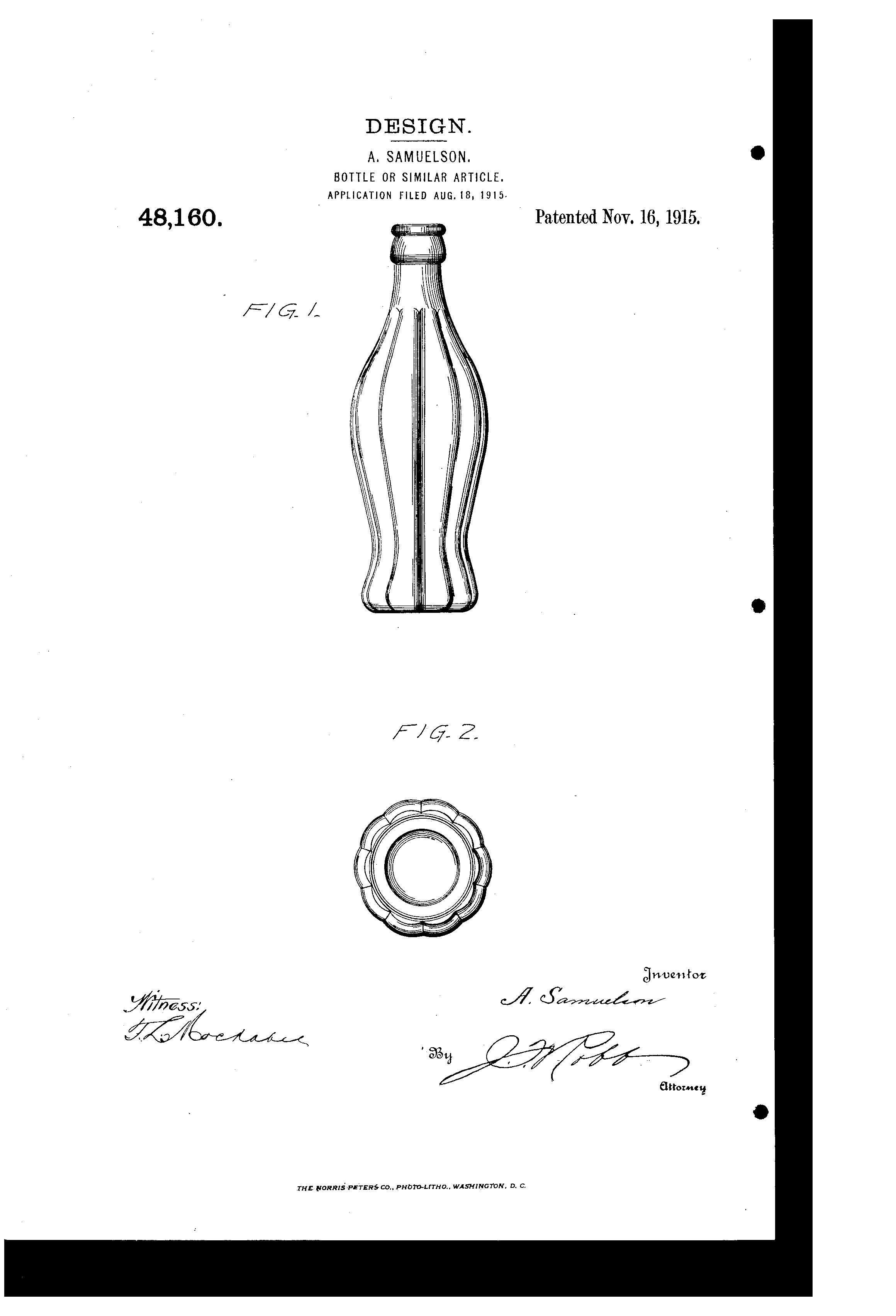 El origen del diseño de la botella de Coca-Cola, esta es la razón por la que adoptó esa forma
