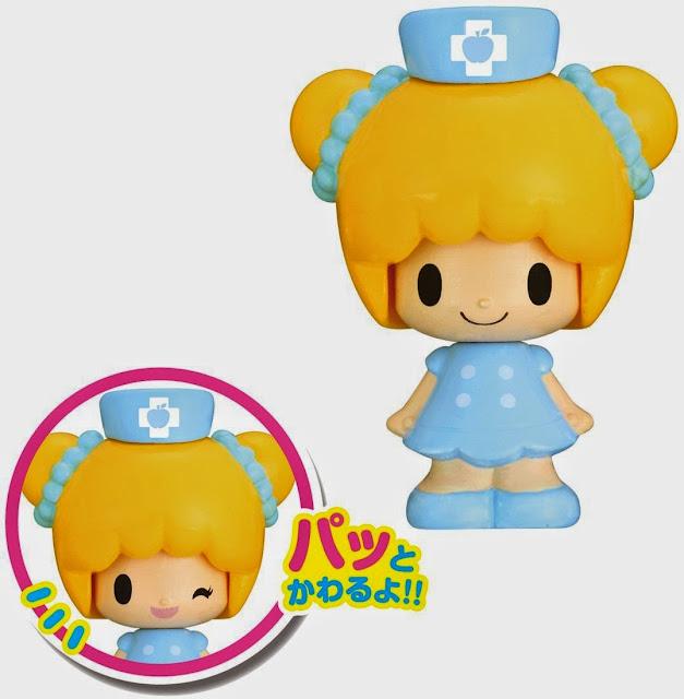 Hai nét mặt đáng yêu của búp bê y tá rất thu hút các bạn nhỏ