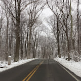 Sat. Mar. 21 2015 on road to W4RX, early morning snow